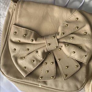 Handbags - bow crossbody purse